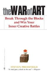 The War of Art   by Steven Pressfield    Most helpful with:  Creativity   Page count:  192   Buy now  for $6.93 AUD