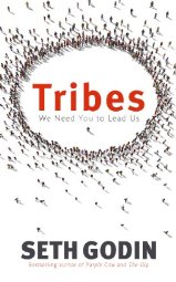 Tribes   by Seth Godin    Most helpful with:  Leadership, Team building   Page count:  137   Buy now  for $16.99 AUD