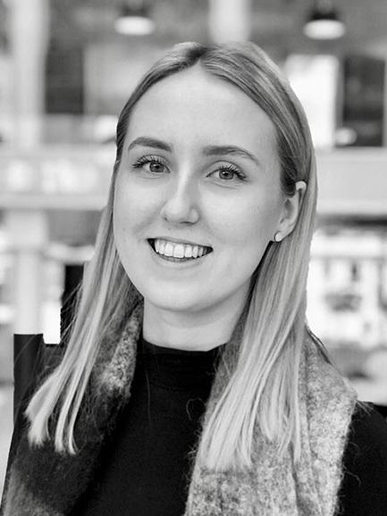 Simone Brattli, intern in NCE Finance Innovation. Photo: NCE Finance Innovation