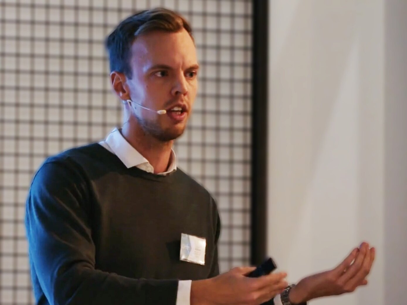 Joakim Sjöblom, CEO of Minna Technologies