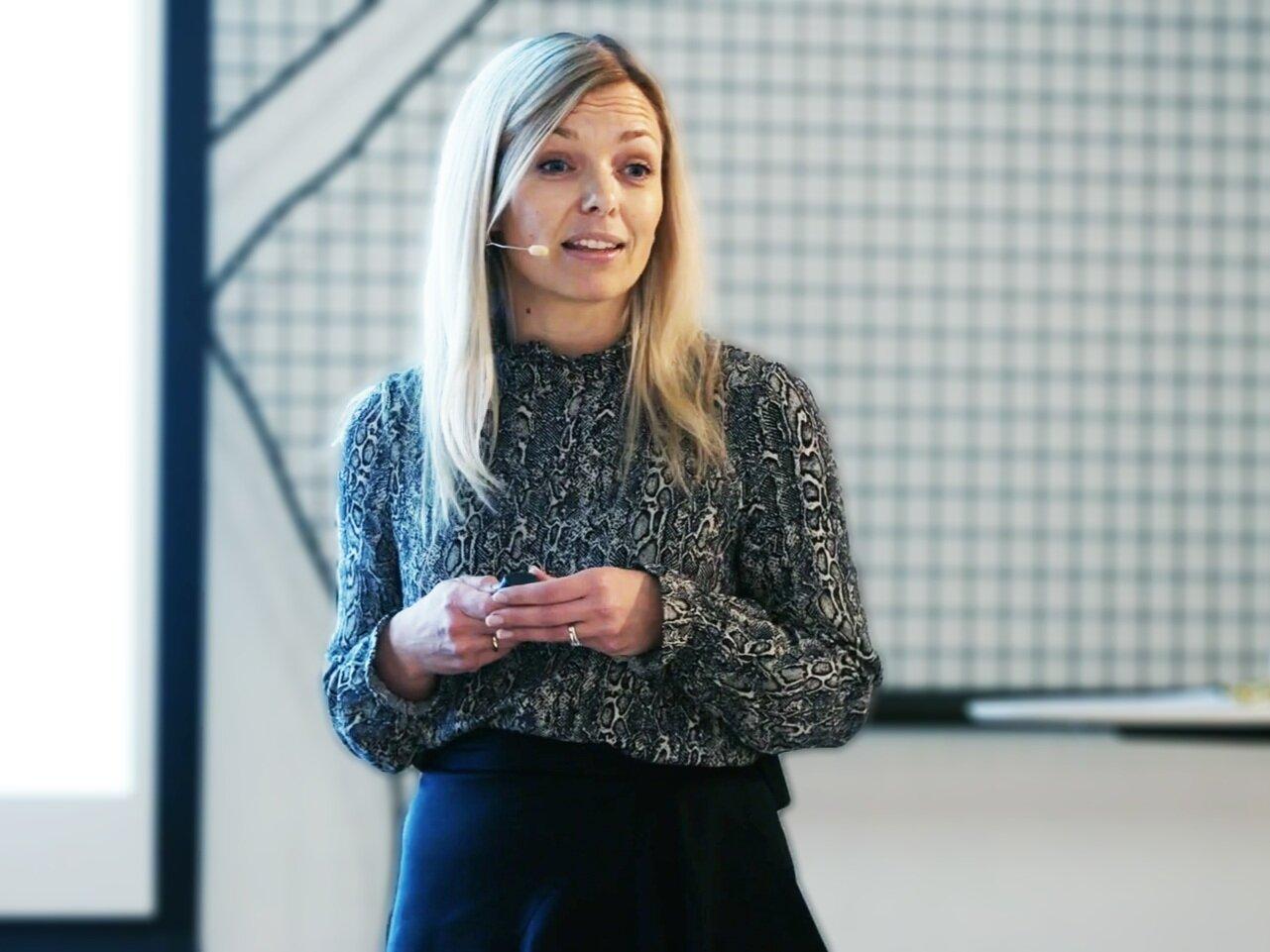 Marianne Wik Sætre, CDO of  Fana Sparebank