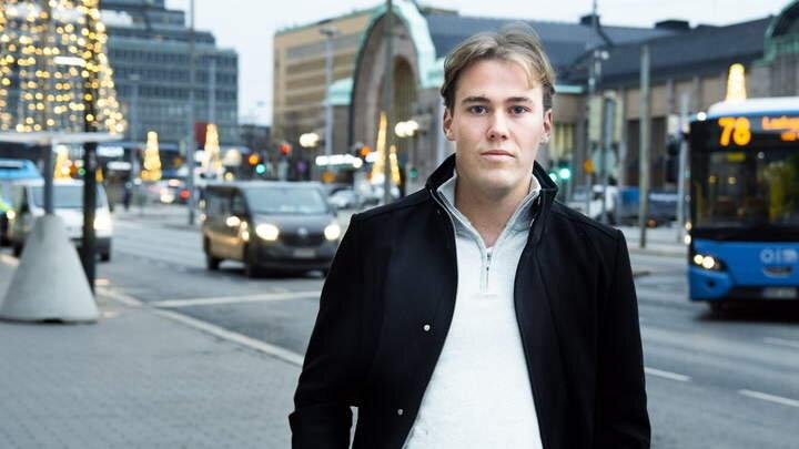 Henrik Johannessen Photo: Finansavisen/Anders Horntvedt