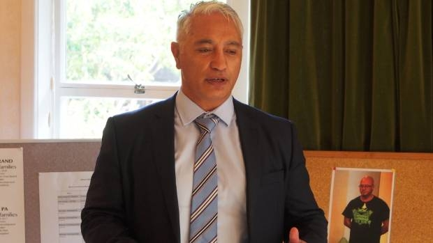 Associate Minister for Social Housing Alfred Ngaro was in Tauranga to announce housing to be built in the area. - Matt Shand