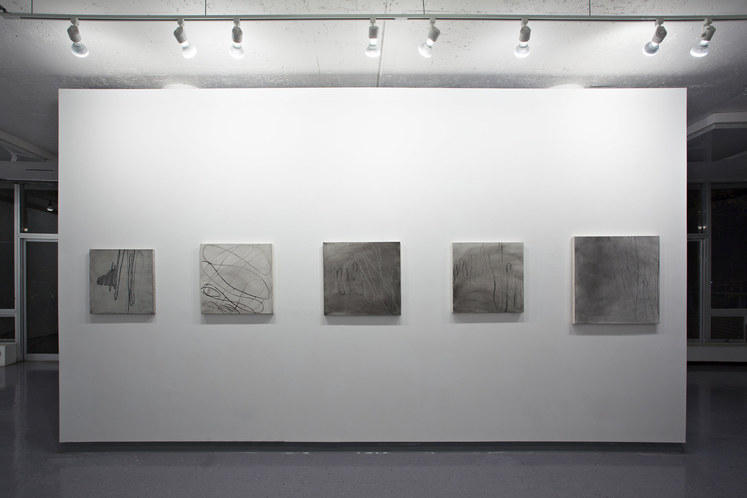 2014, Installation view at Dekalb gallery, Pratt institute, Brooklyn, NY
