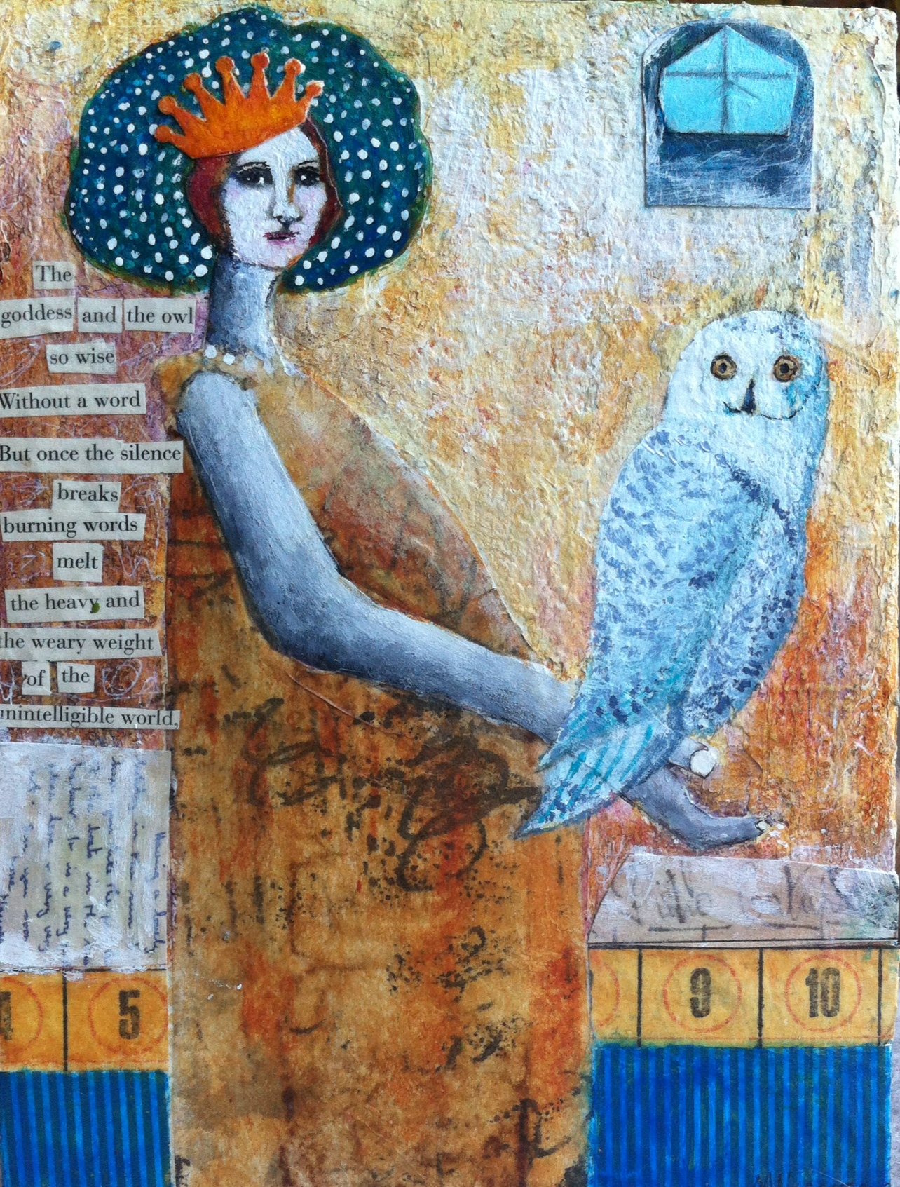 Goddess and the Owl