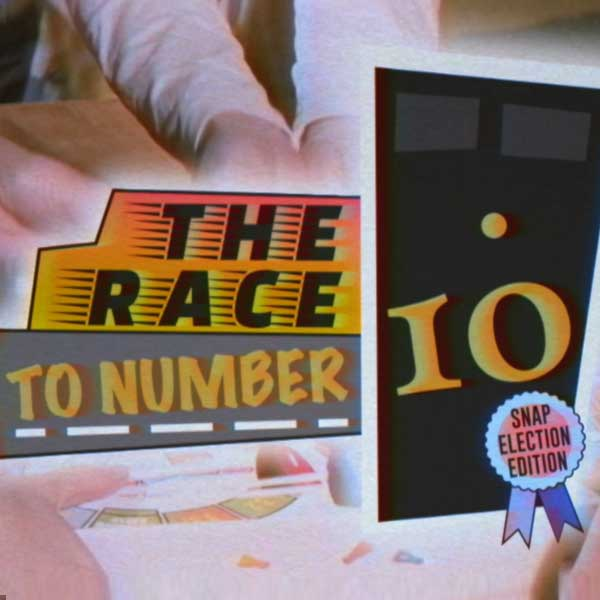 Copy of Copy of The Race To Number 10