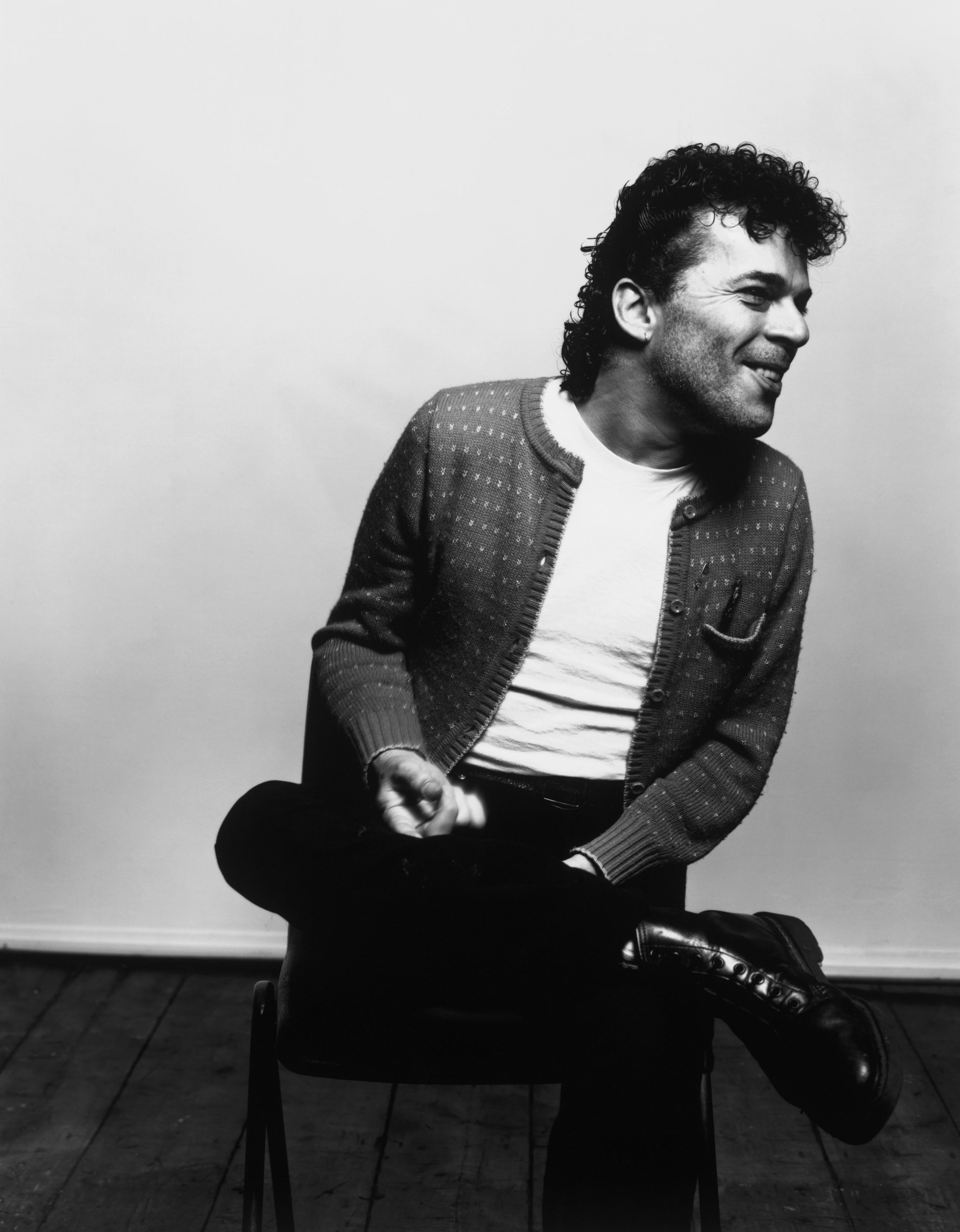 Ian Dury, London, 1981