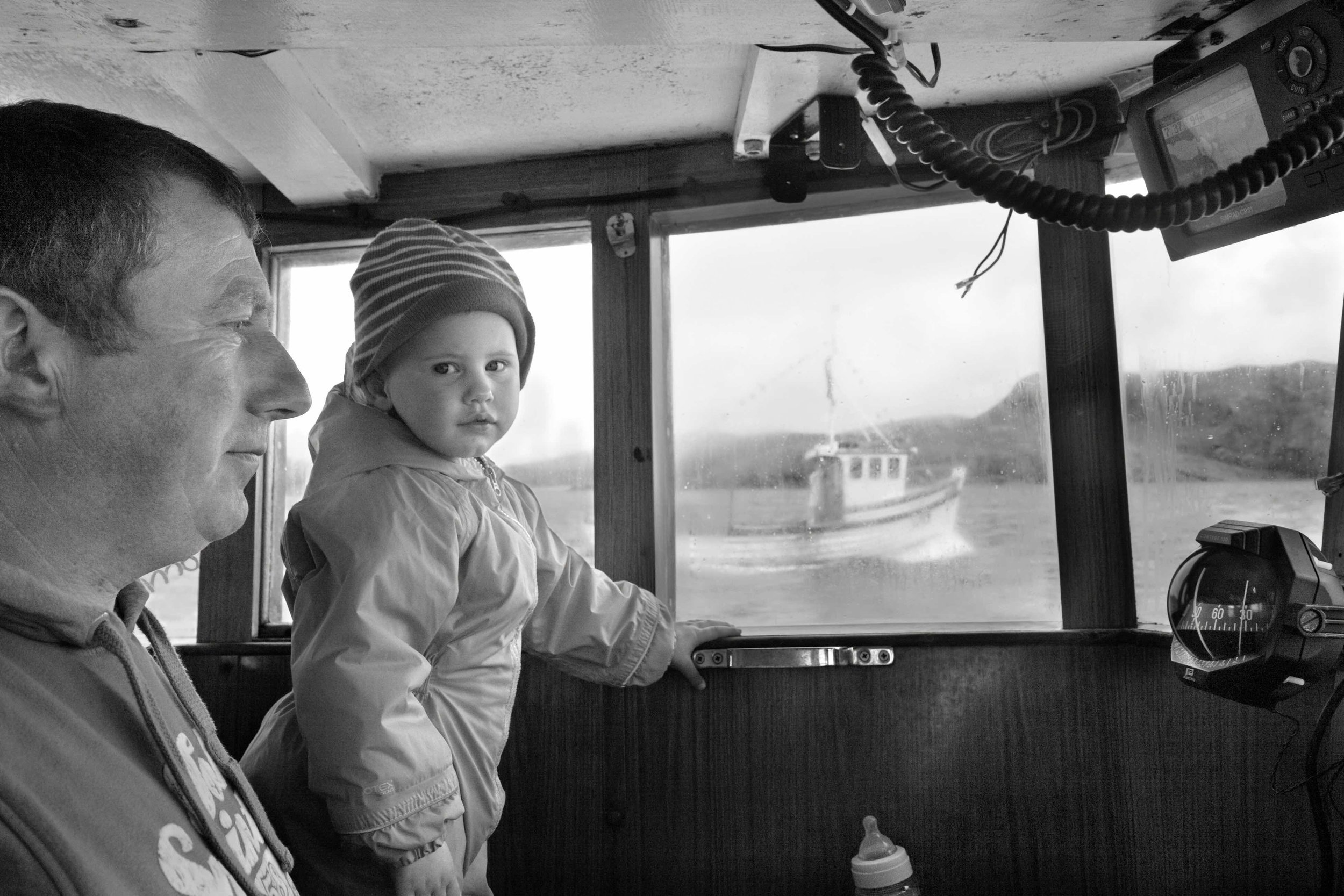 Iain and Katie, 2011 from The Vatersay Series