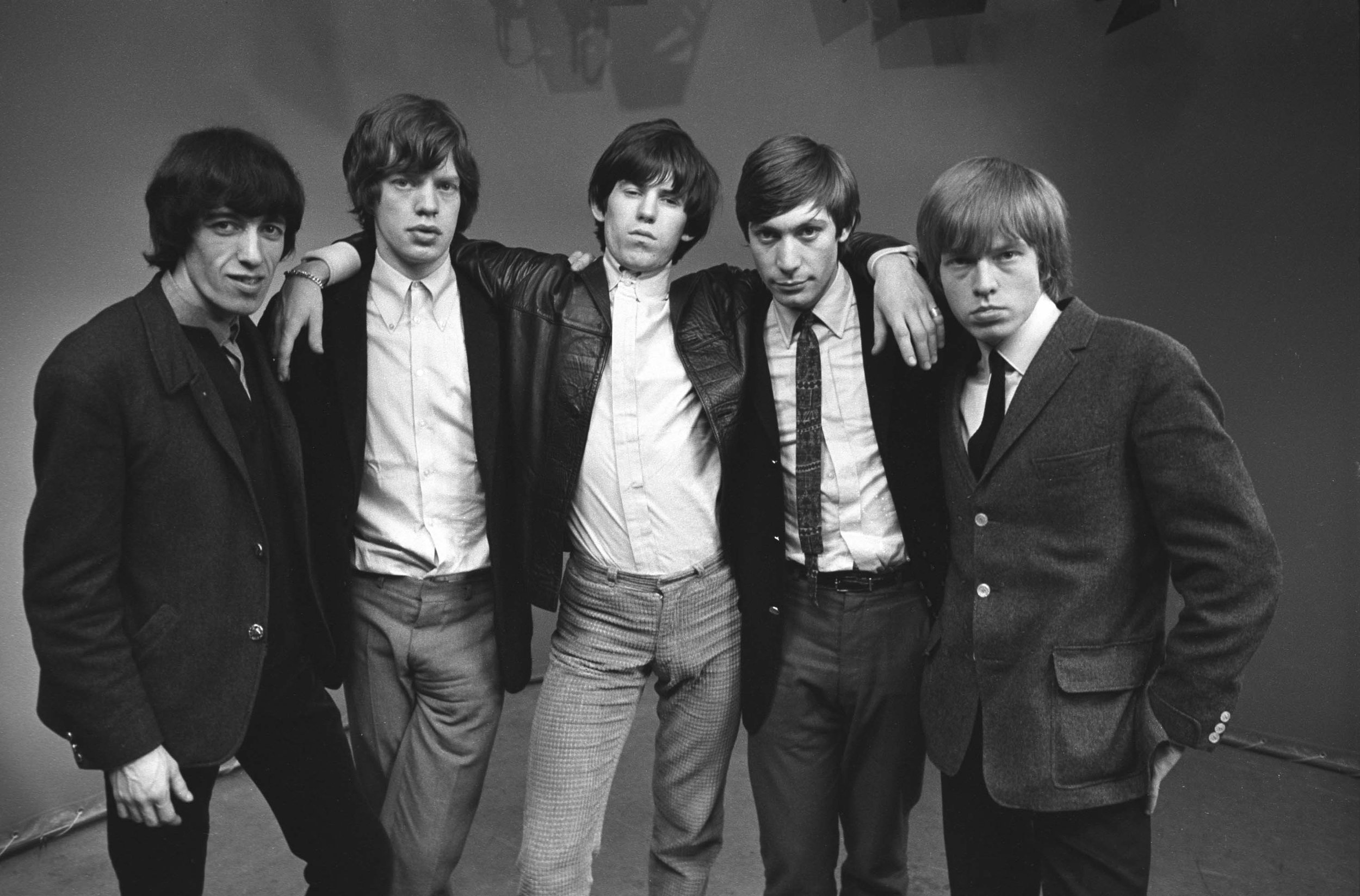 The Rolling Stones Studio Group Shot #1, London, 1964