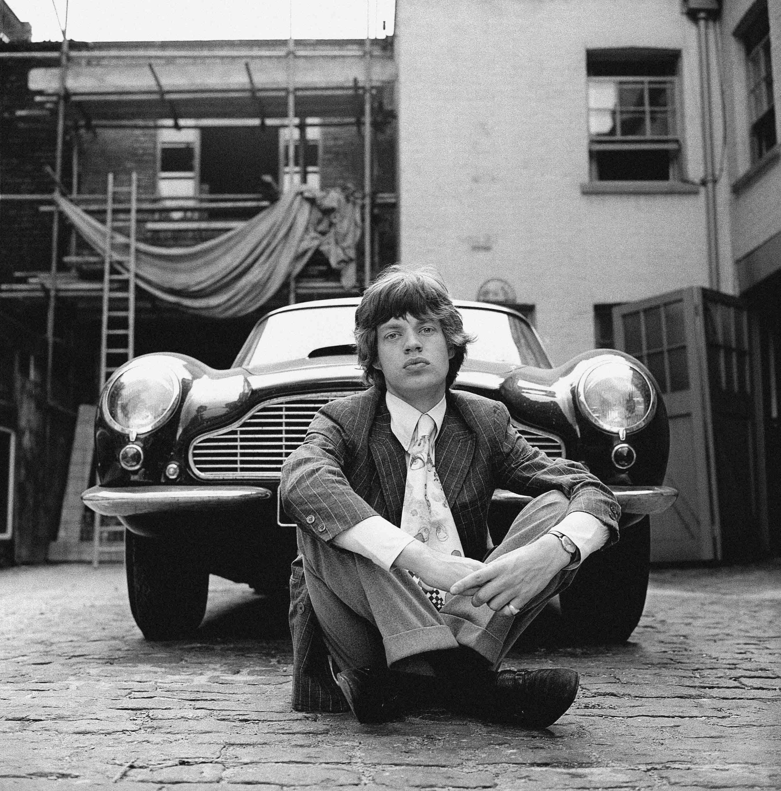 Mick & Aston, Central London, 1966