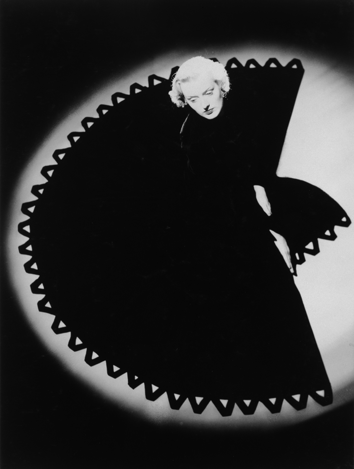 Fan Dress, Harper's Bazaar, 1938