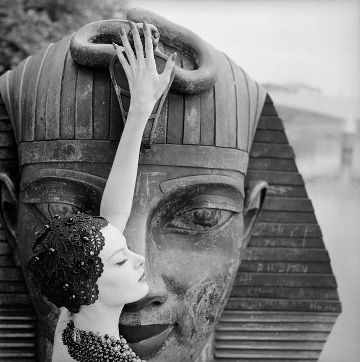 Nena & the Sphinx, Queen Magazine, 1963
