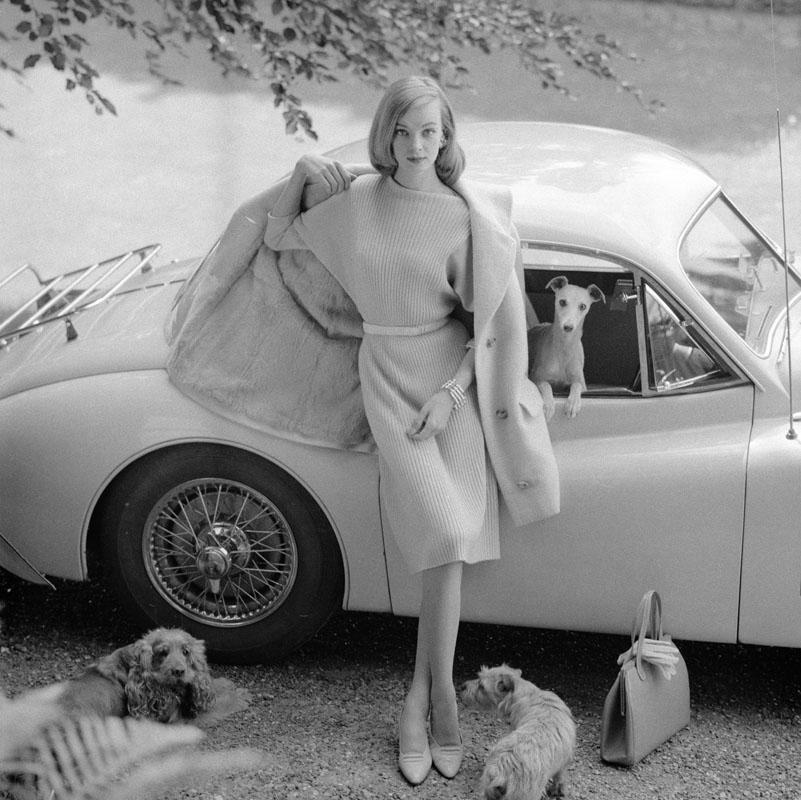 Nena von Schlebrugge for Vogue Magazine, 1958