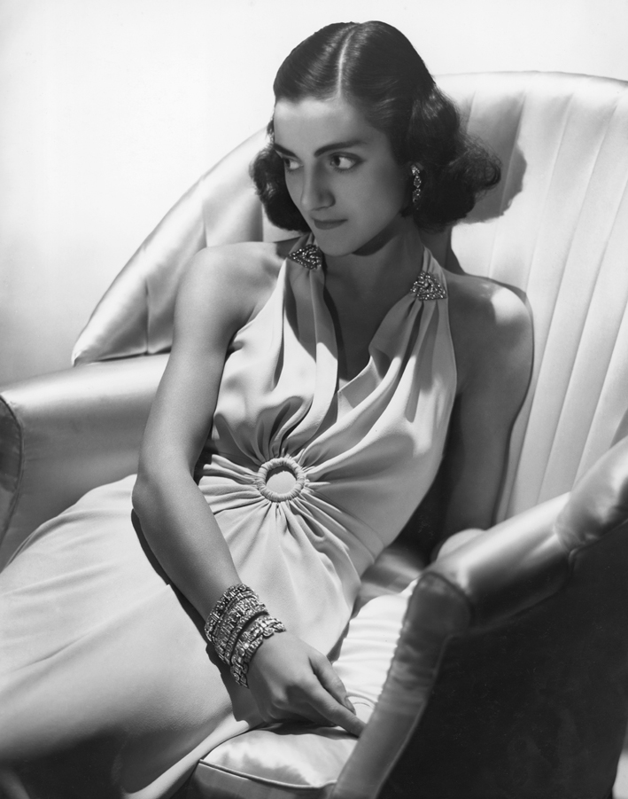 The Italian born Duchess of Leeds, 1st Wife of 11th Duke for Harper's Bazaar, 1938