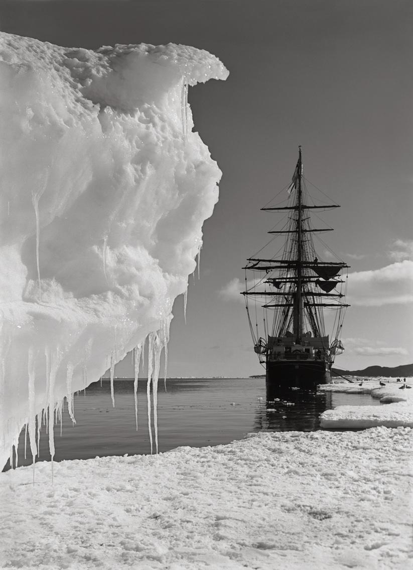 The Terra Nove & a Berg at Ice-Foot, January 16th 1911