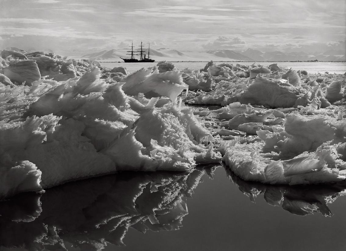 Beautiful Broken Ice, Reflections & Terra Nova, January 7th 1911