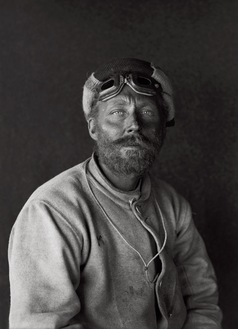 Portrait of Cecil H Meares on Return From the Barrier, 29 January 1912