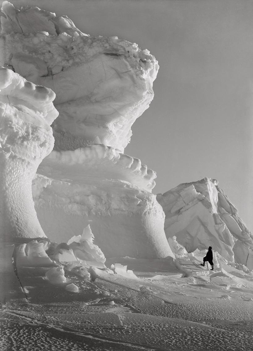 Huge Ice Bastions of The Castle Berg, September 17 1911