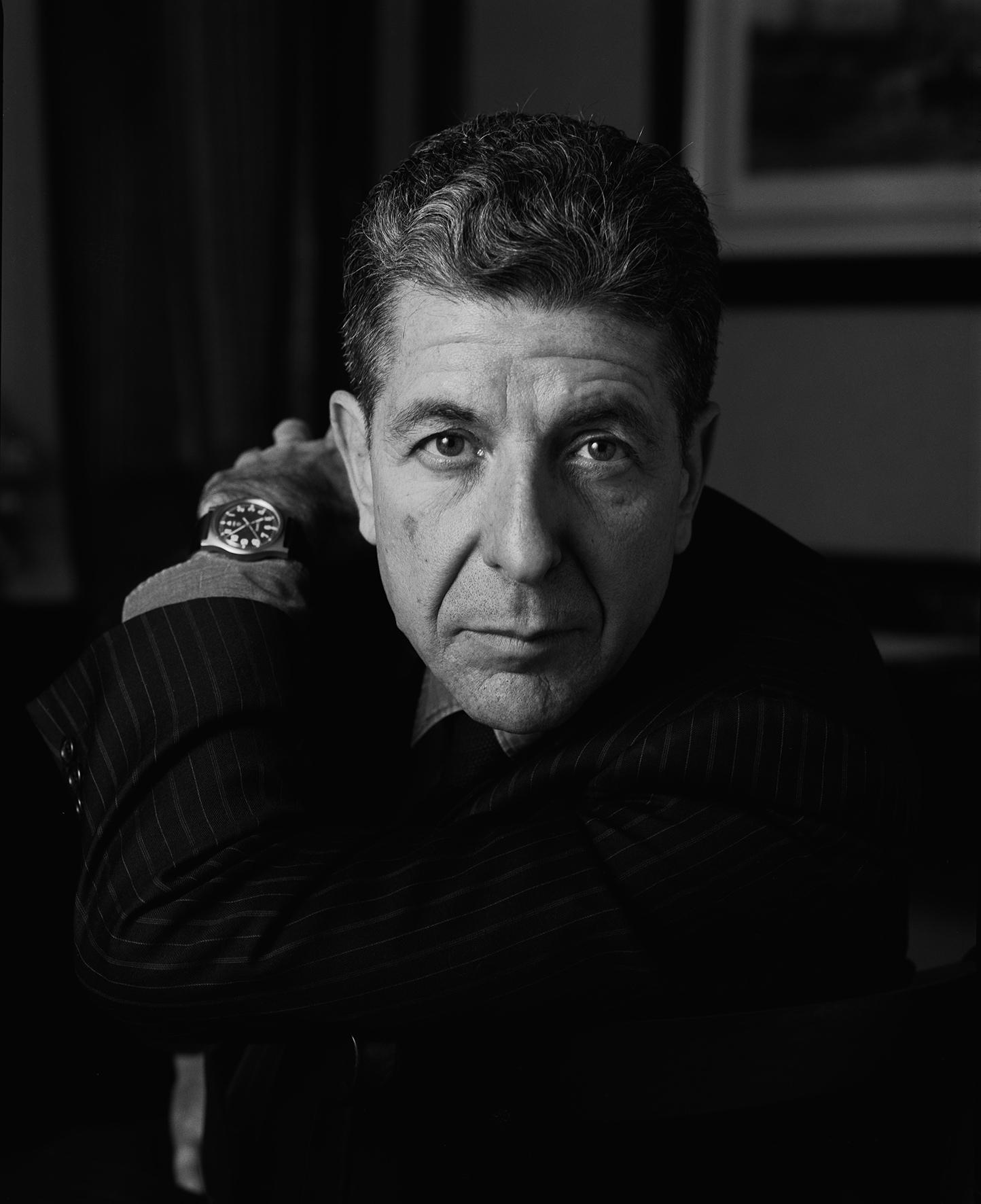 Leonard Cohen, London, 1987