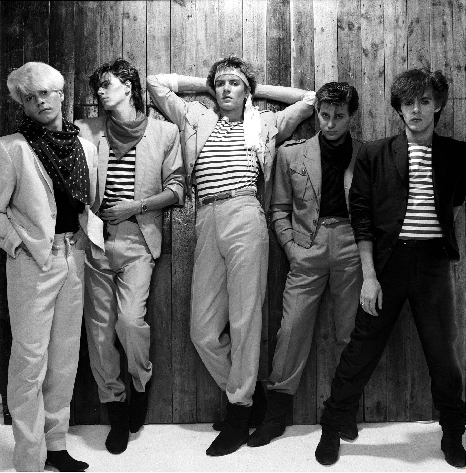 Duran Duran, Studio Shot, 1981