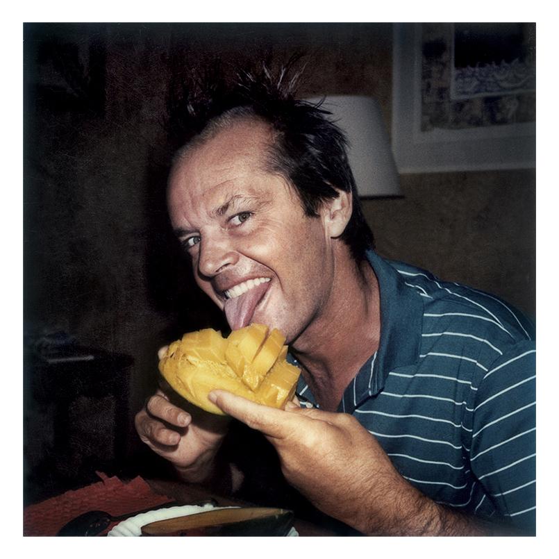 Jack Nicholson with Mango, Saint Tropez, 1979