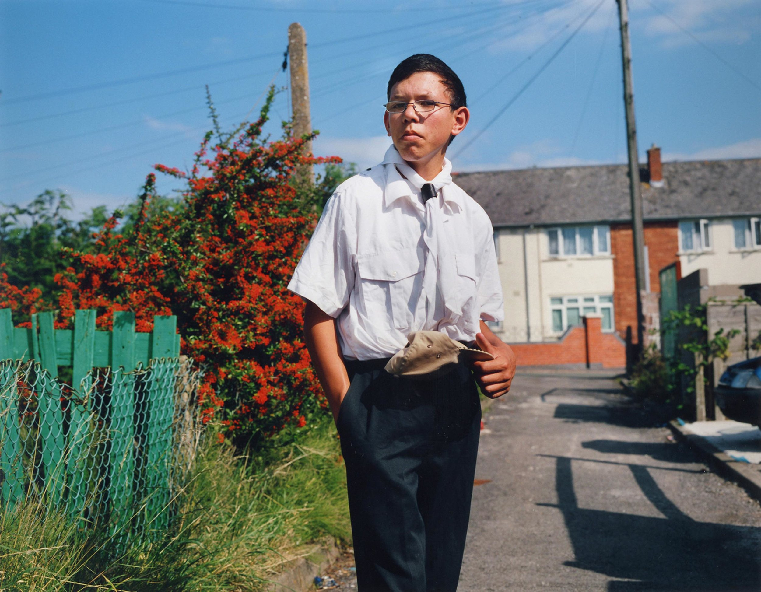 Joel from the 'Young Carers' series