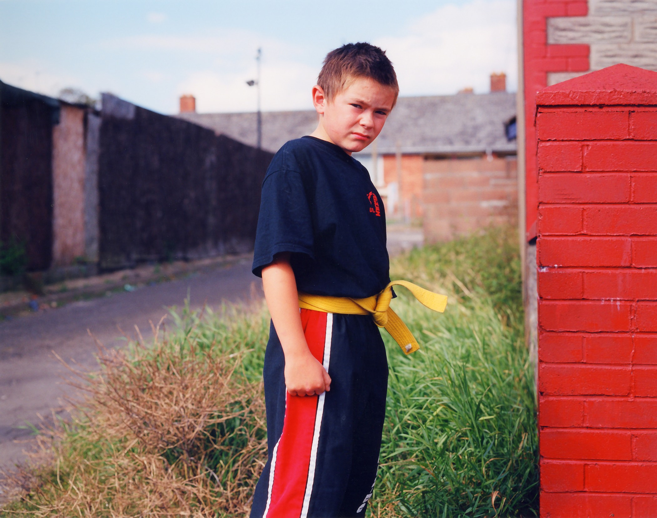 Conor from the 'Young Carers' series