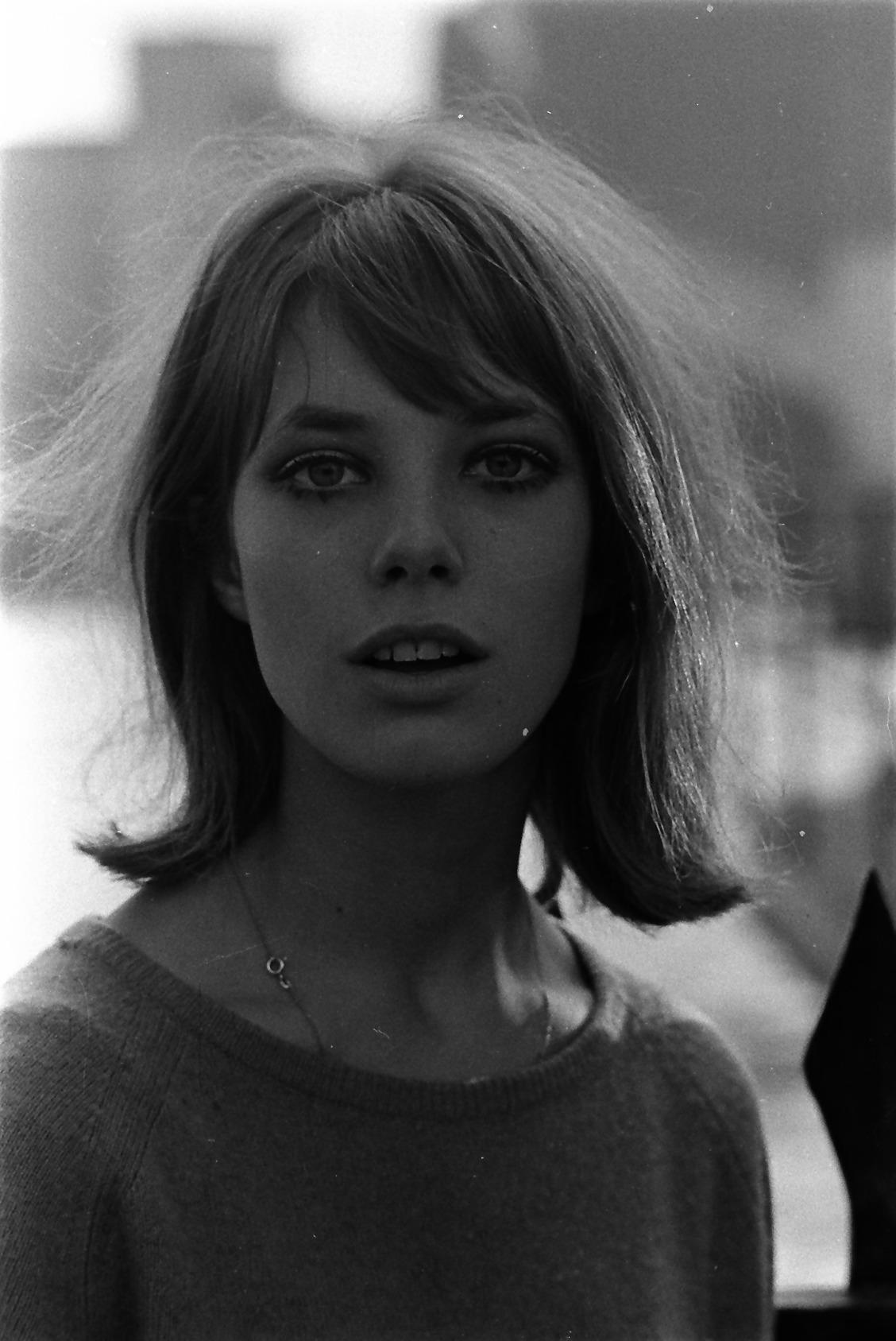Jane Birkin Outside, c.1965