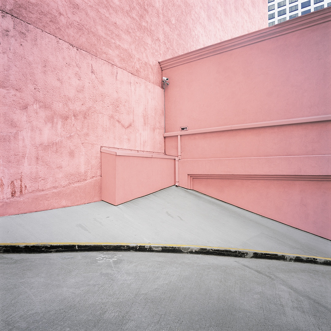Pink Wall, Los Angeles, California, 2005 from the 'Architor Space' Series