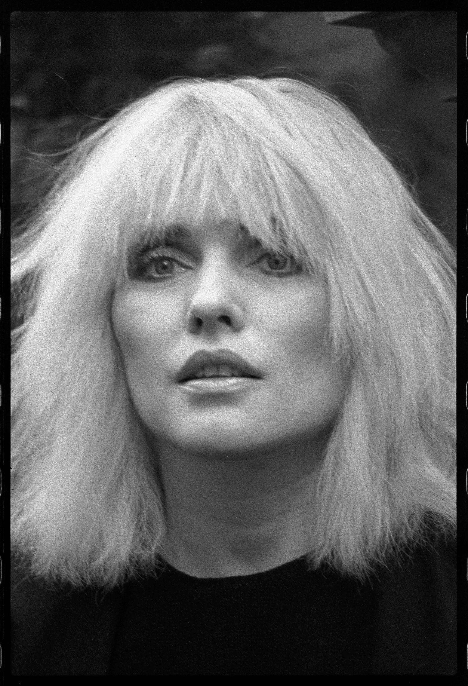Debbie Harry of Blondie at the Ritz Hotel, London 20 November 1983