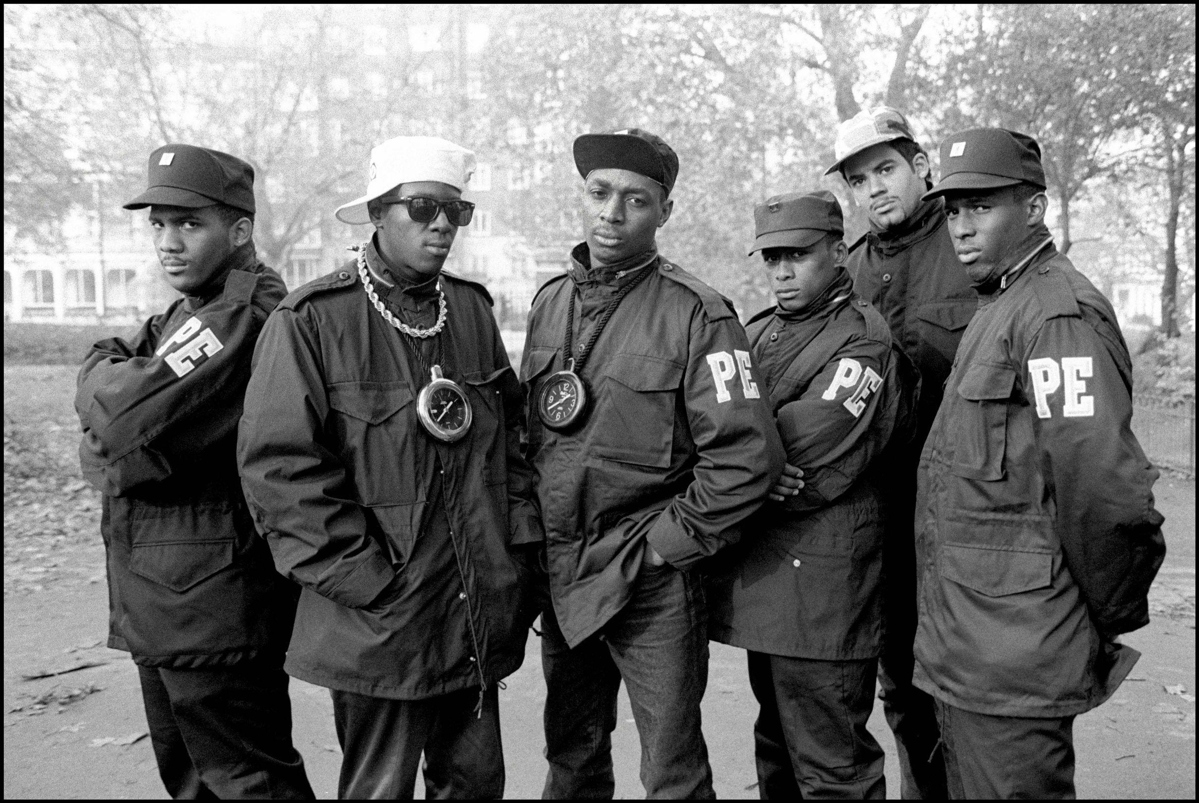 Public Enemy in Hyde Park, London, UK 2 November 1987
