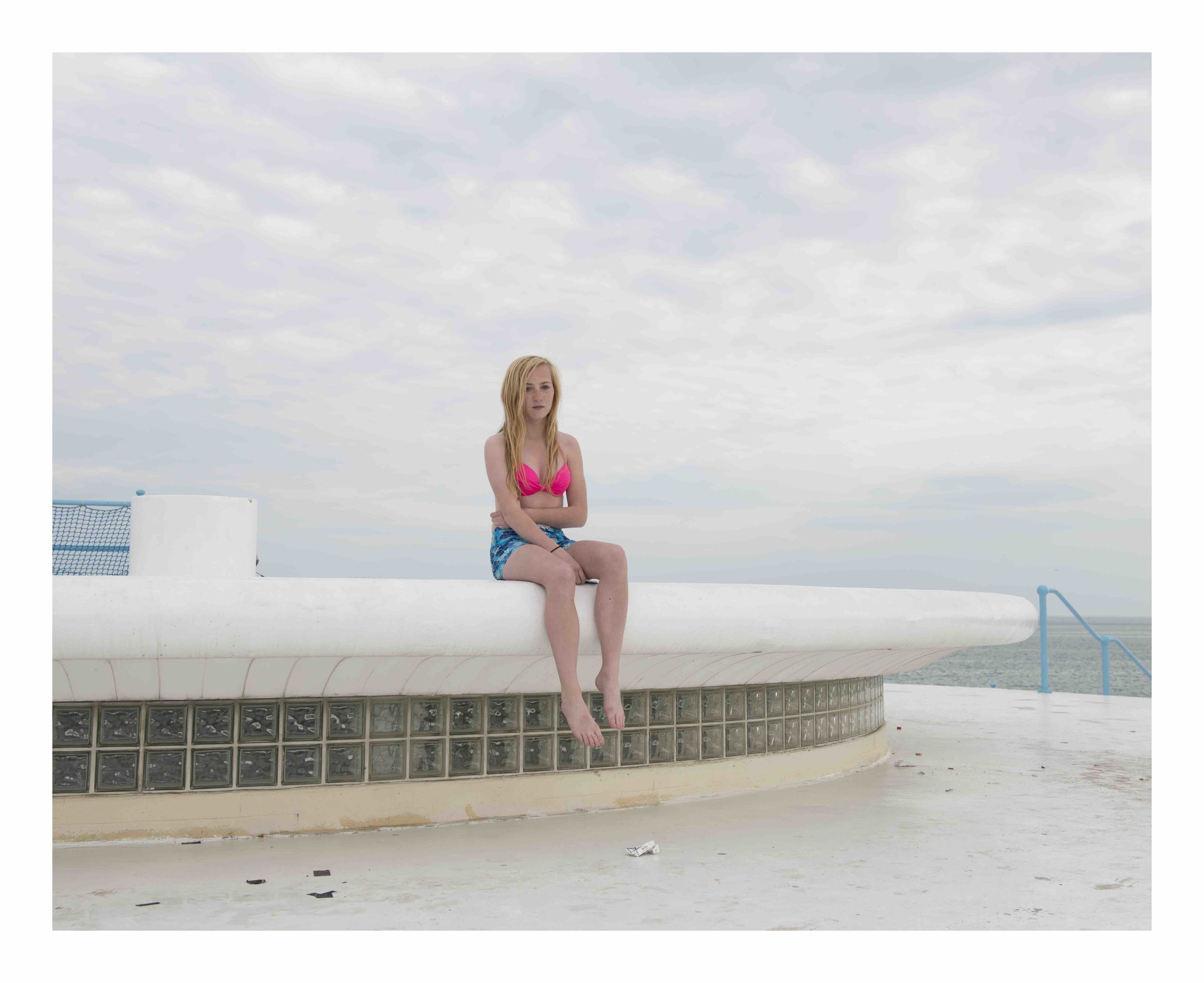 Georgia, Havre des Pas Swimming Pool, St Clement, Jersey, c.2013 from the 'Insula' series