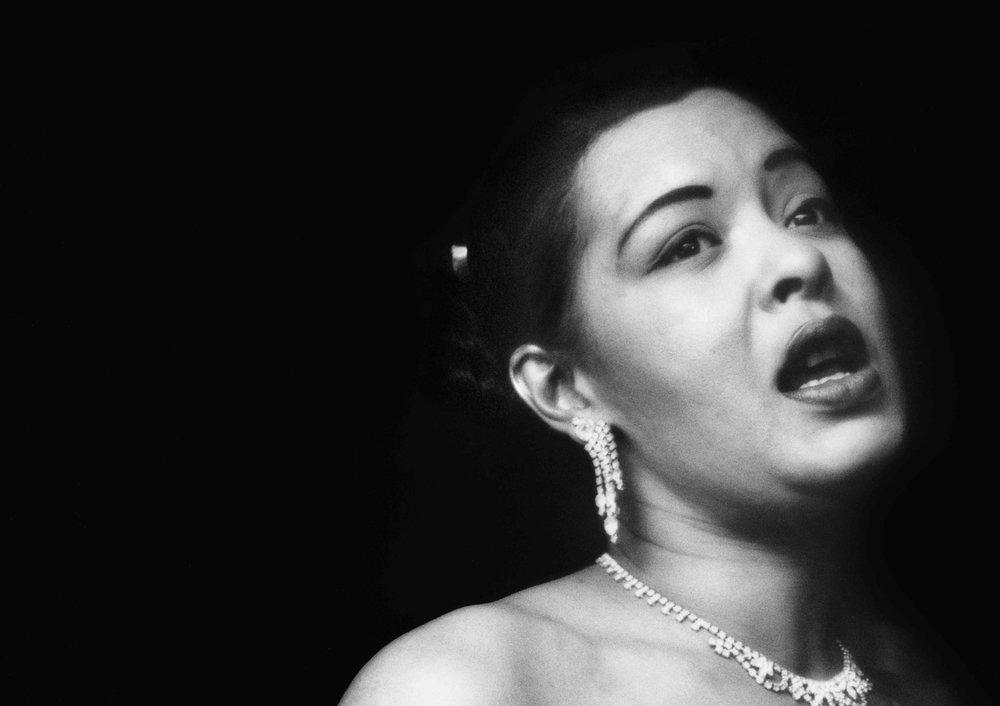 Billie Holiday at the Tiffany Club, Los Angeles, 1951