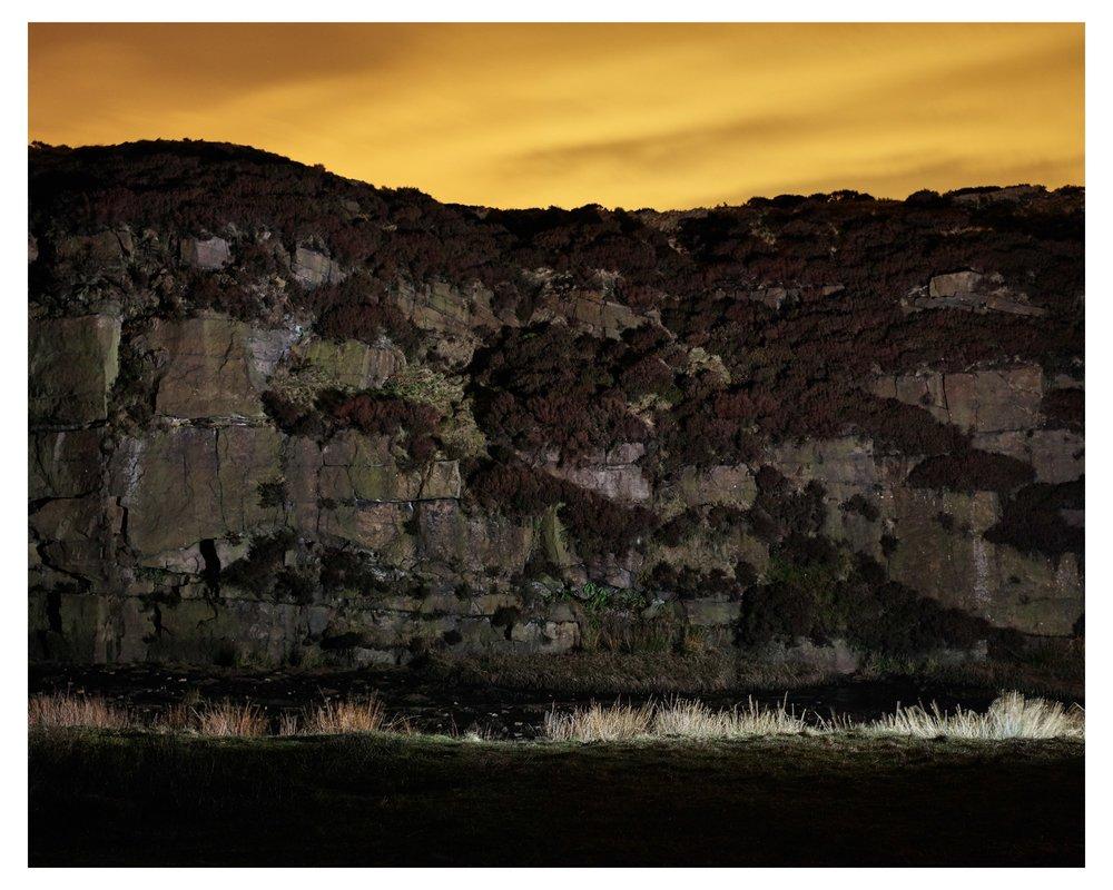 Quarry, Saddleworth Moor, 2015 from The saddleworth Moor Series