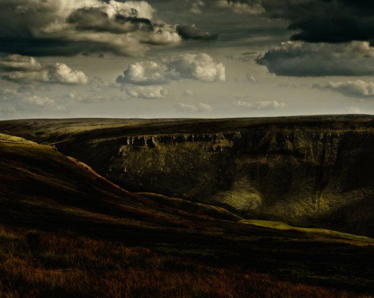 Ashway Rocks, Saddleworth Moor, 2013 from The saddleworth Moor Series