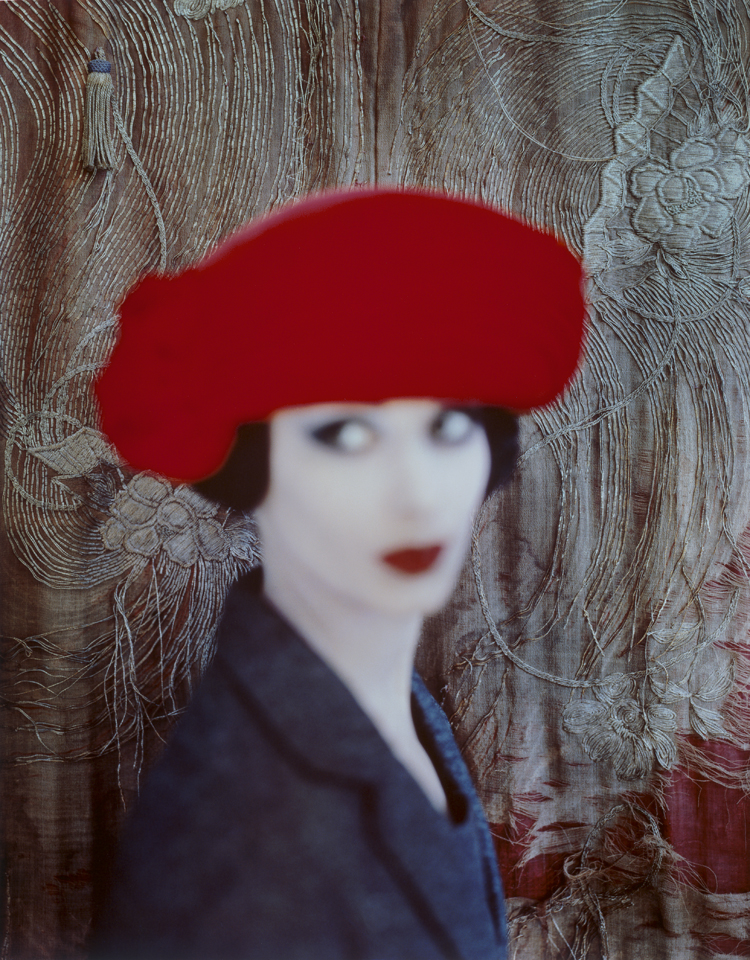 After van Dongen: Adele Collins in an Otto Lucas toque for Vogue Magazine, 1959