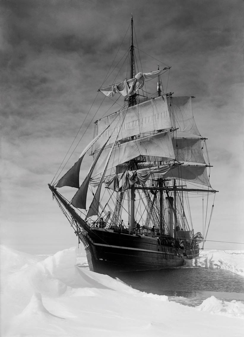 The Terra Nova held up in the pack, December 13th 1910
