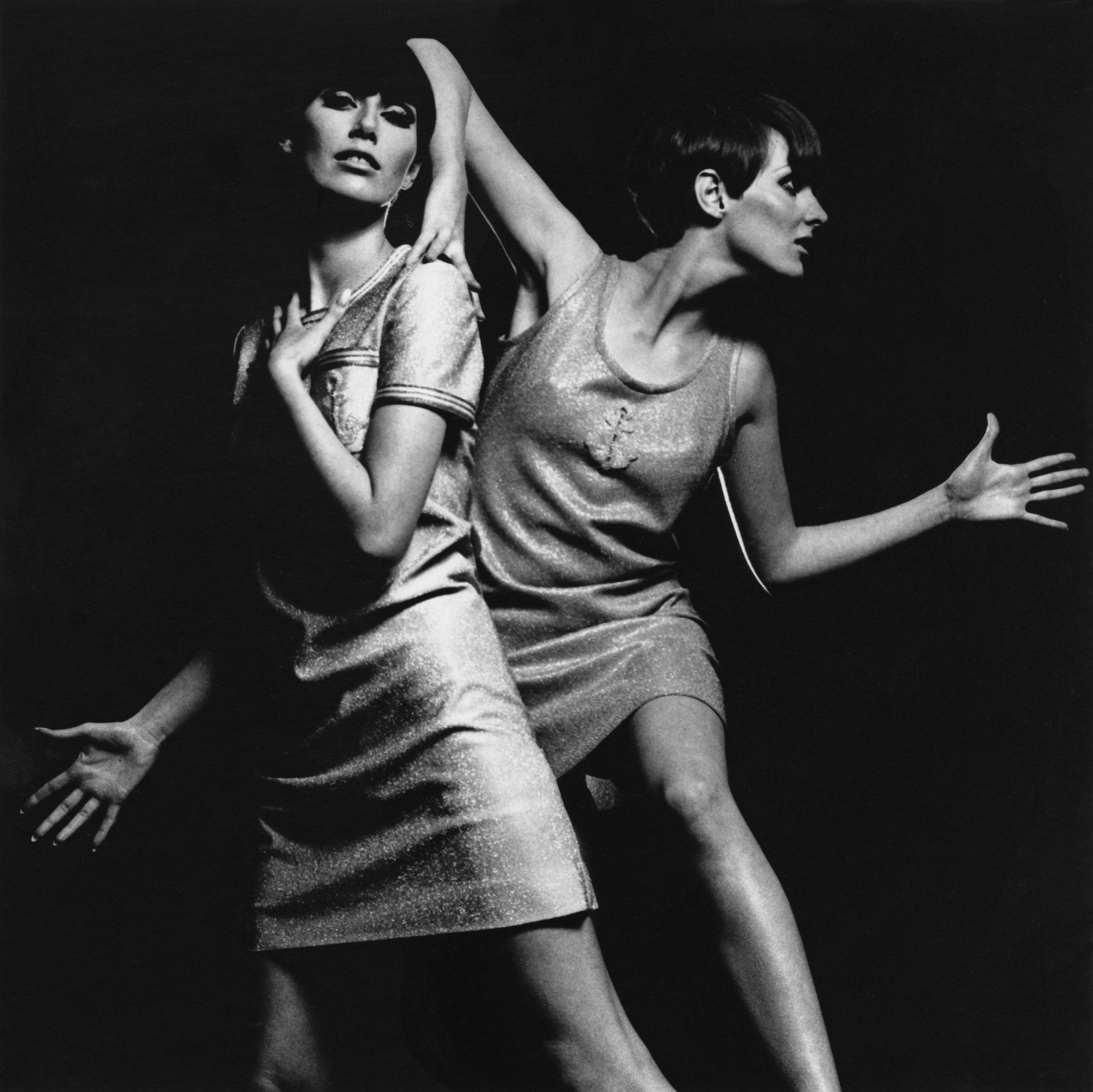 Grace Coddington & Telma, c. 1966