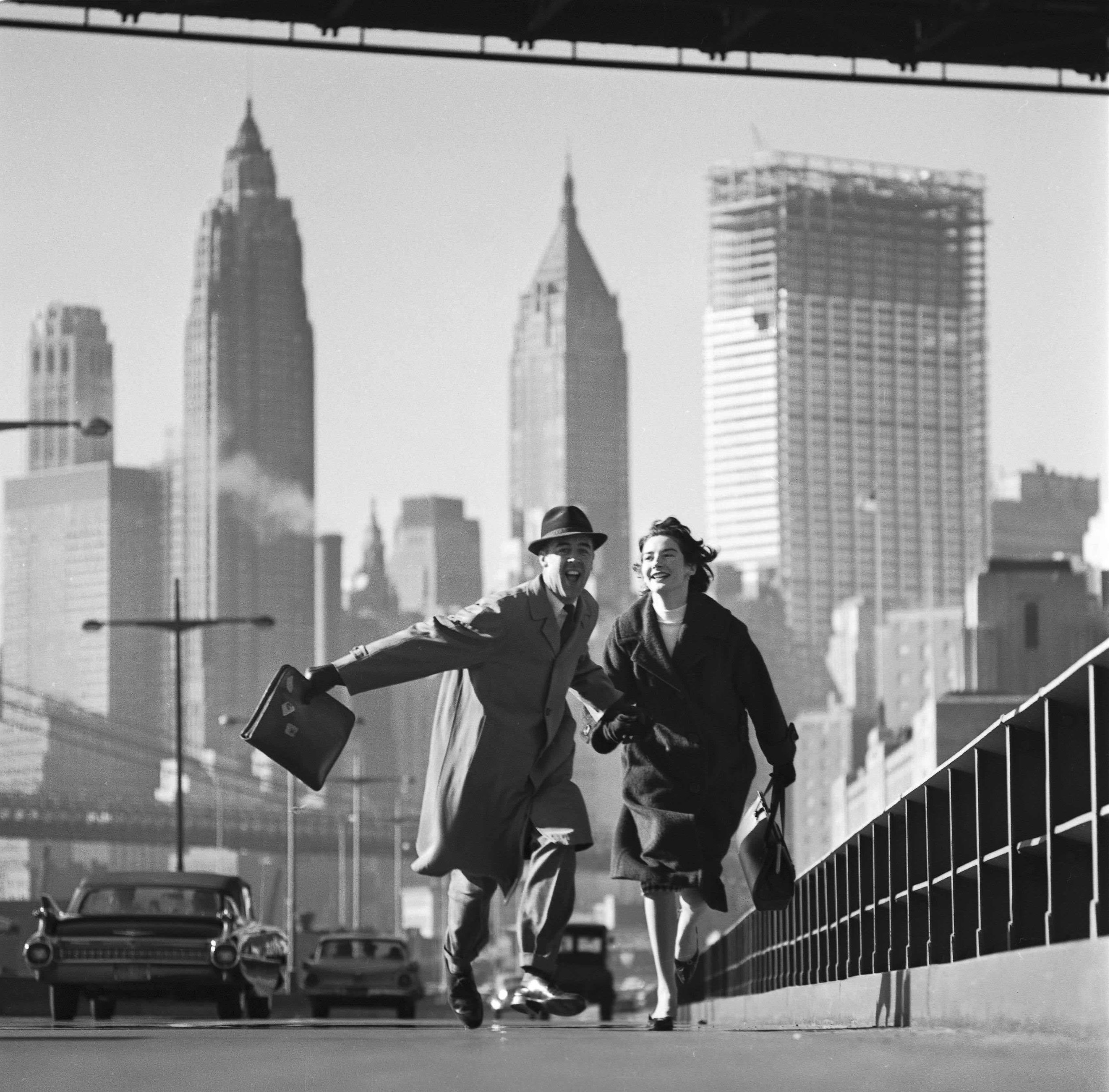 New York, NY, East River Drive, GO Magazine, early 1960s by Norman Parkinson