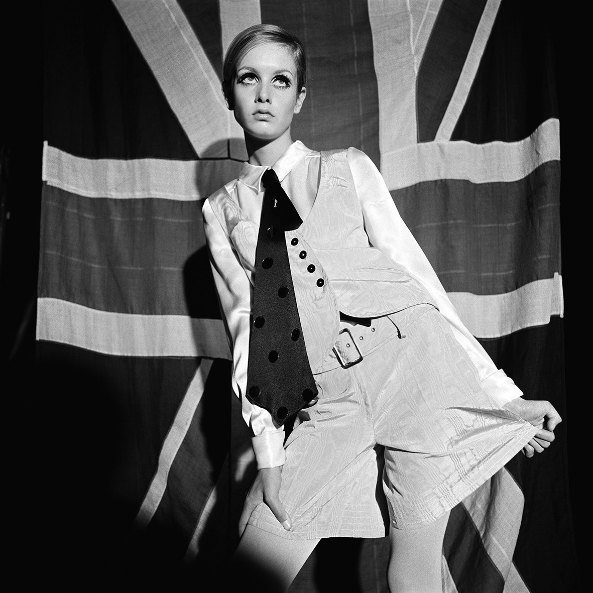 Twiggy in 'Sundae Best' Fashion Feature for Women's Mirror, London, 3rd June 1966 (published 27th August 1966)
