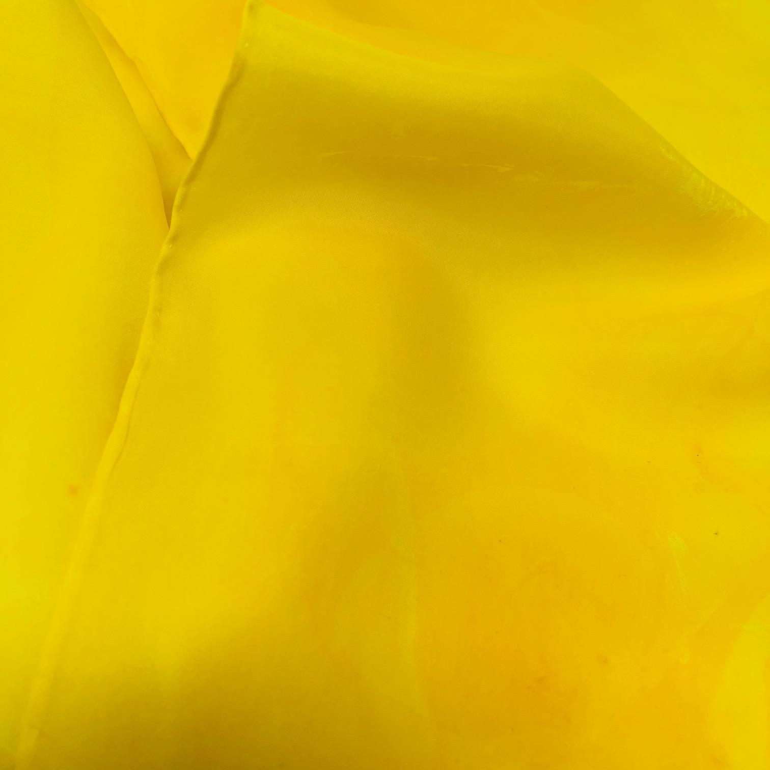 Zohara Silk Scarf - Yellow - Solar Plexus