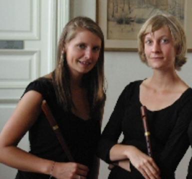 Anne-Catherine Gosseléet Rachel Heymans   Flûte à bec