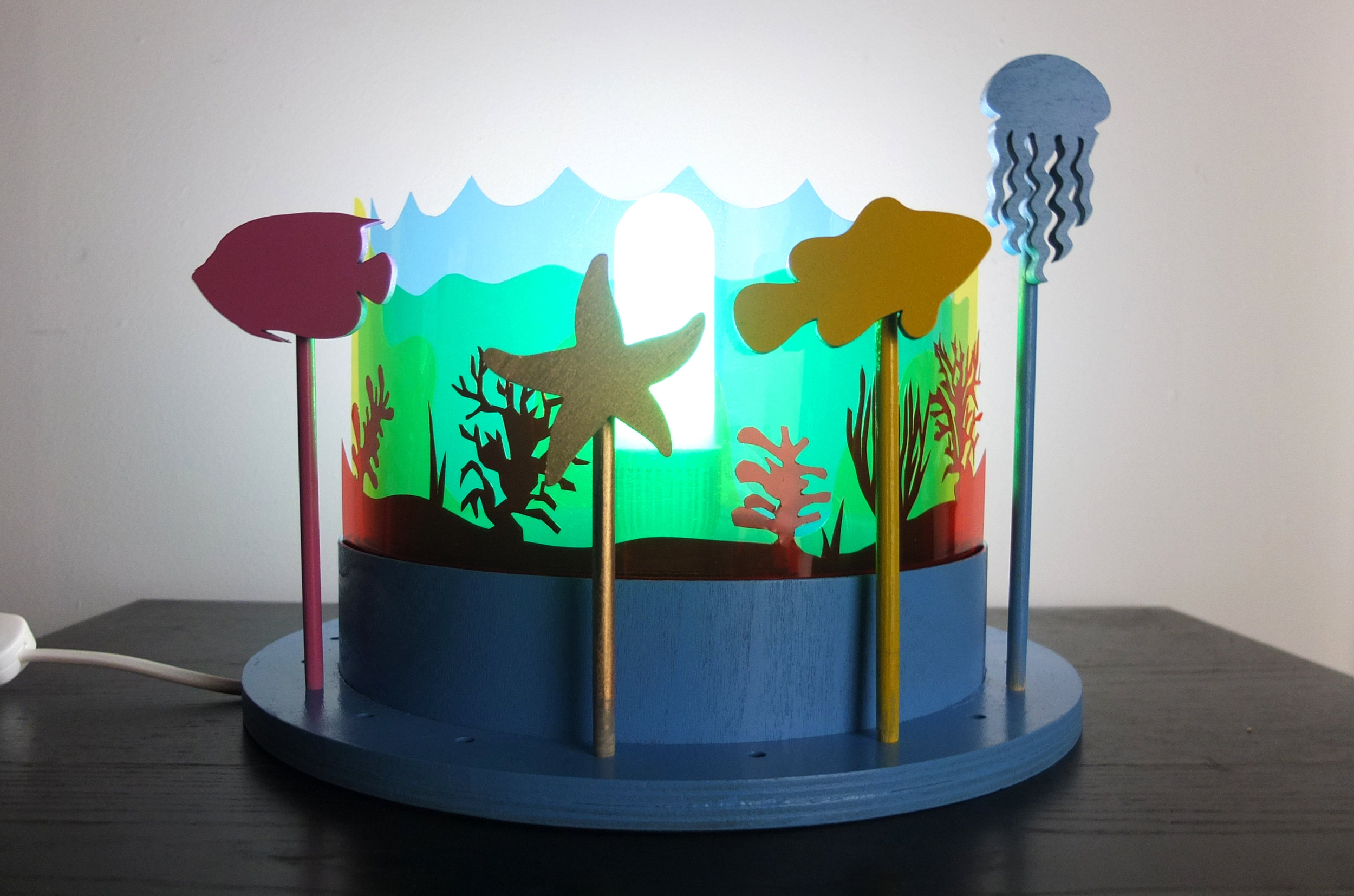 Under The Sea Lamp