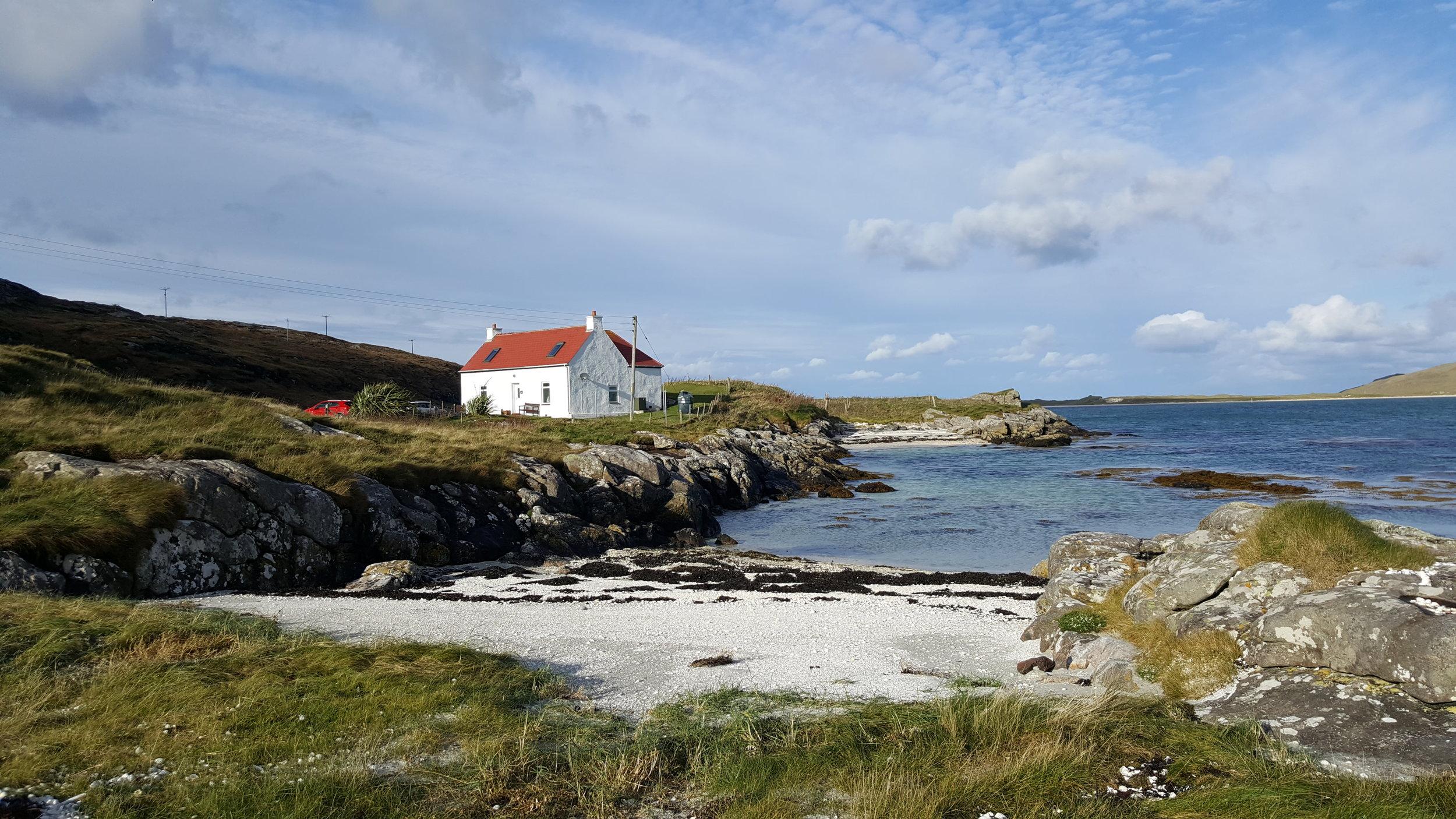 Crannag Cottage at Eoligarry
