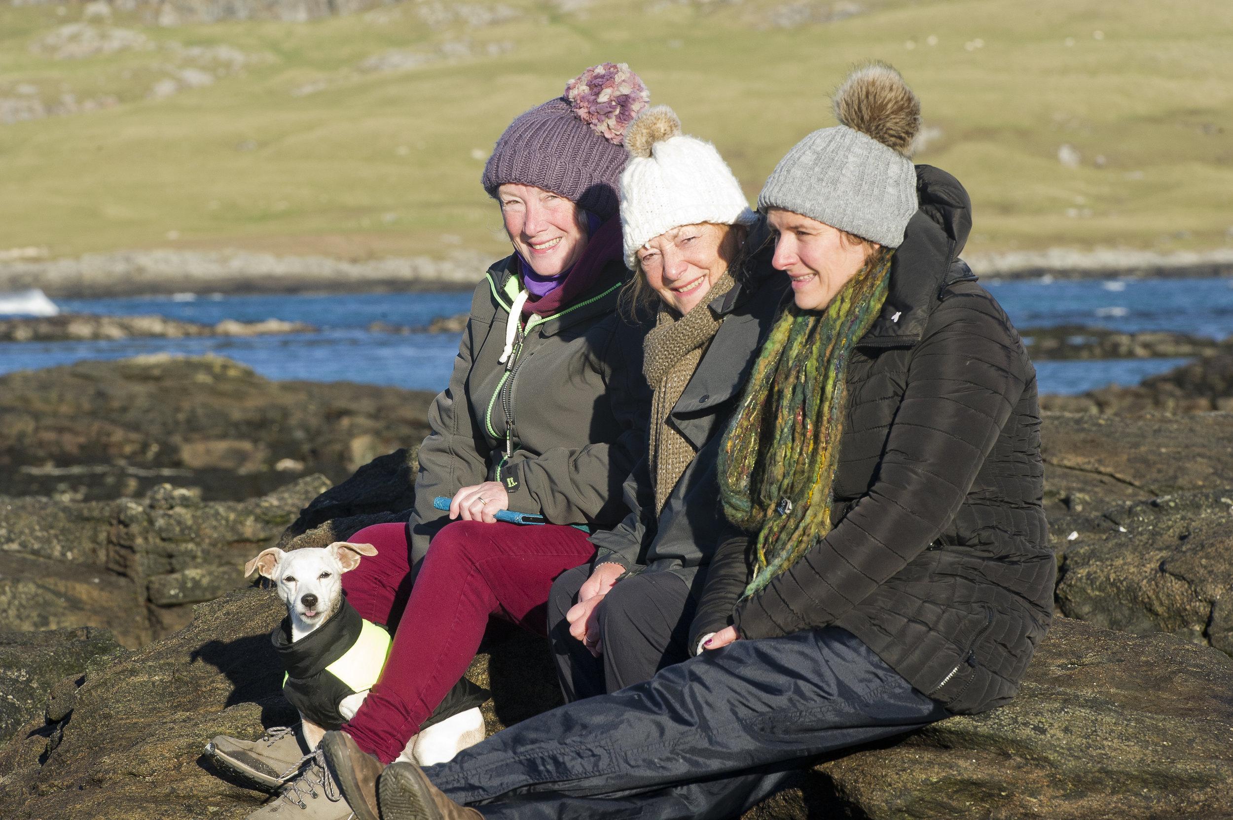 Thai, Eileen, Irene & Katie