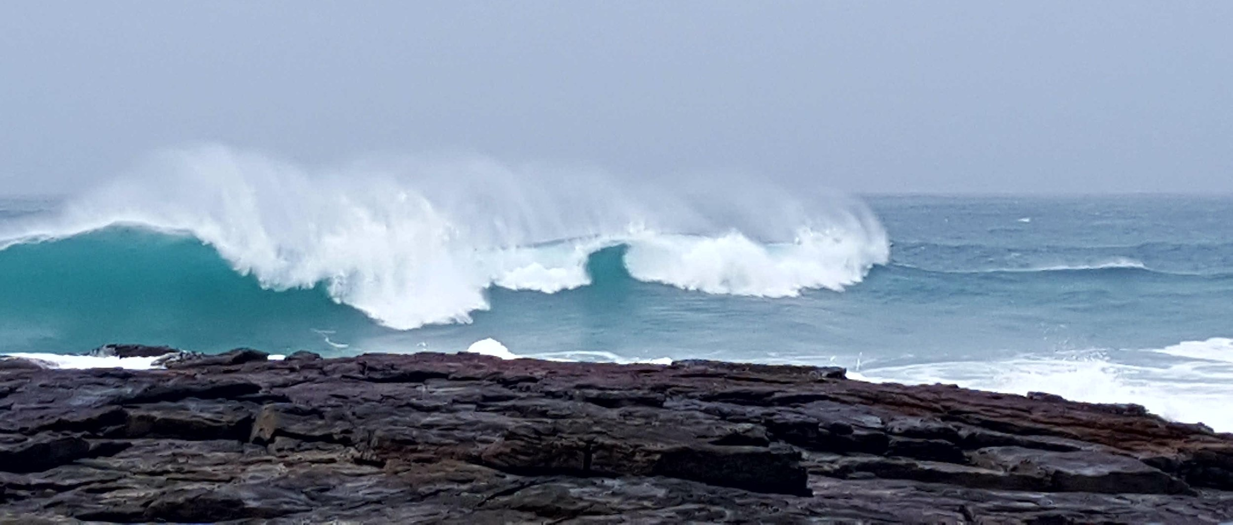 Waves on Vatersay
