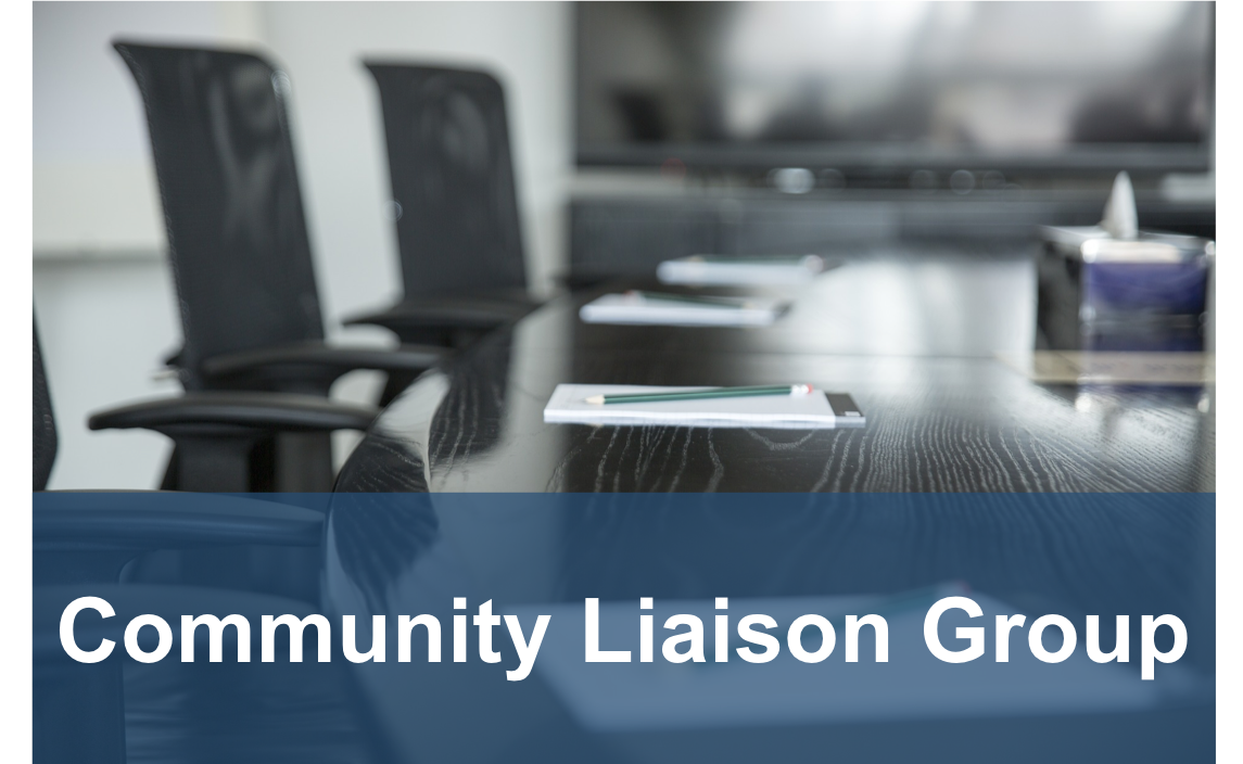 community liason group button