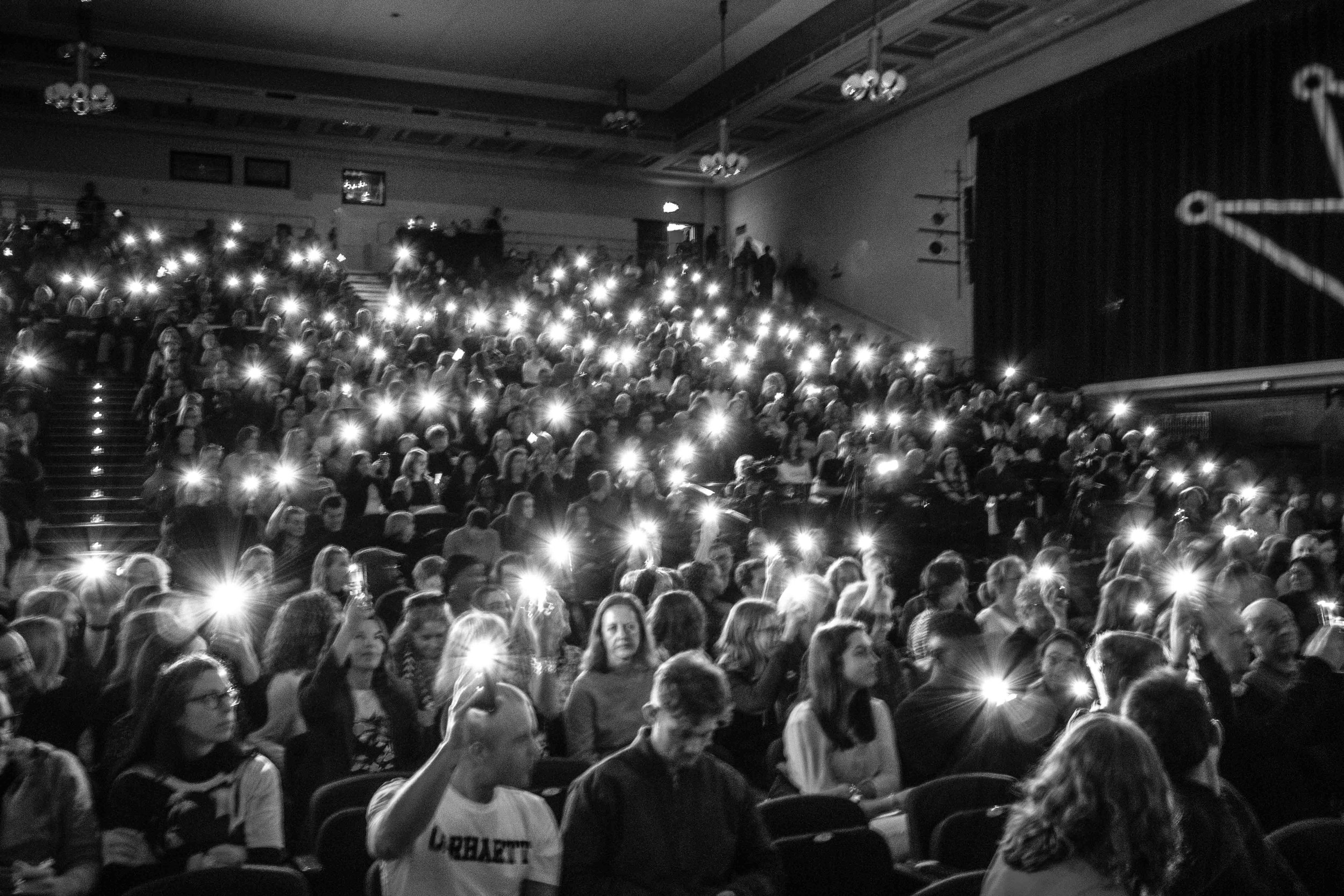 the audience at TEDxRoyalTunbridgeWells shining a light.jpg