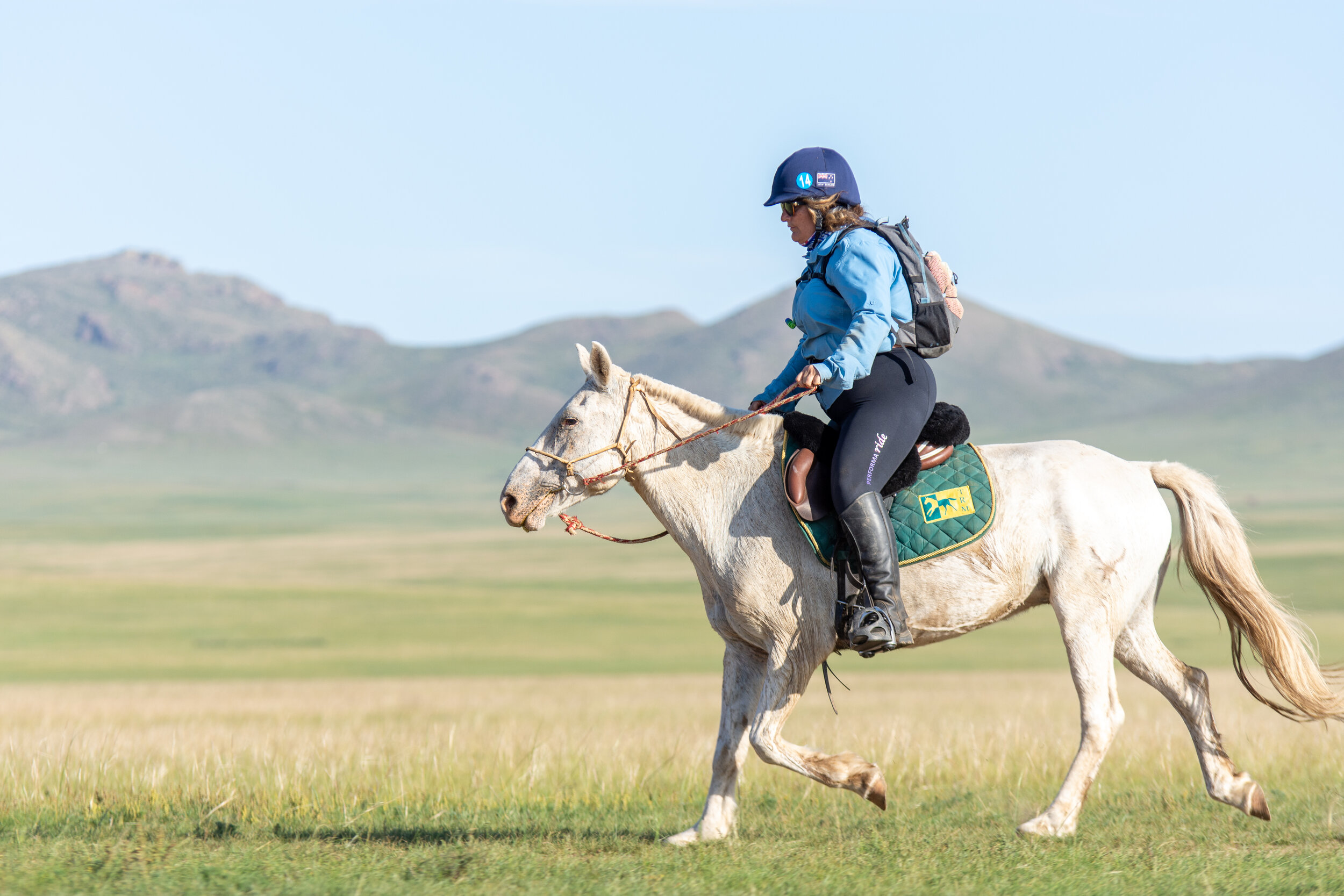 The race is a highlight in my life. The horses, the culture and the team behind it. They are truly wonderful, and I learnt so much about myself and horsemanship from my fellow riders. - Shelley Ensor, Cavalcade rider, New Zealand.