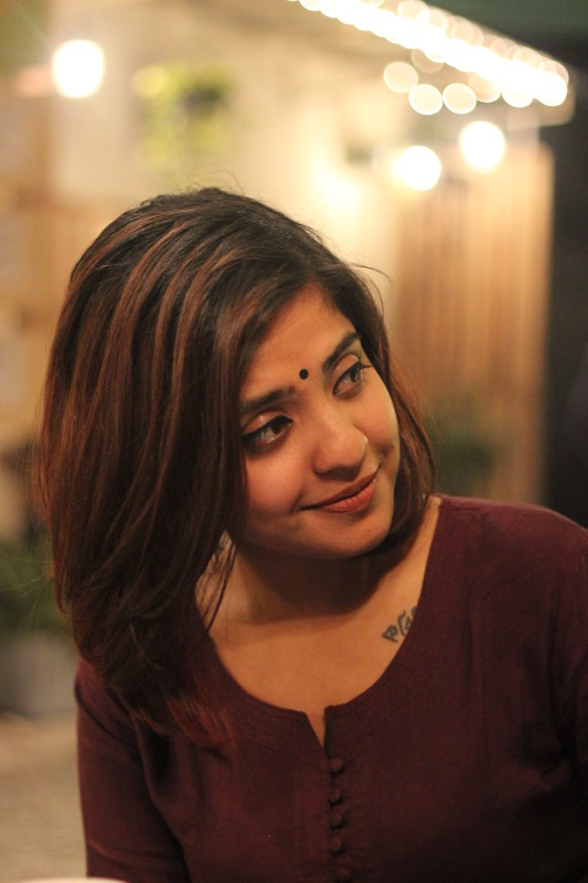 Priyanka Sarkar - An independent filmmaker based in New Delhi, India, who just completed this film